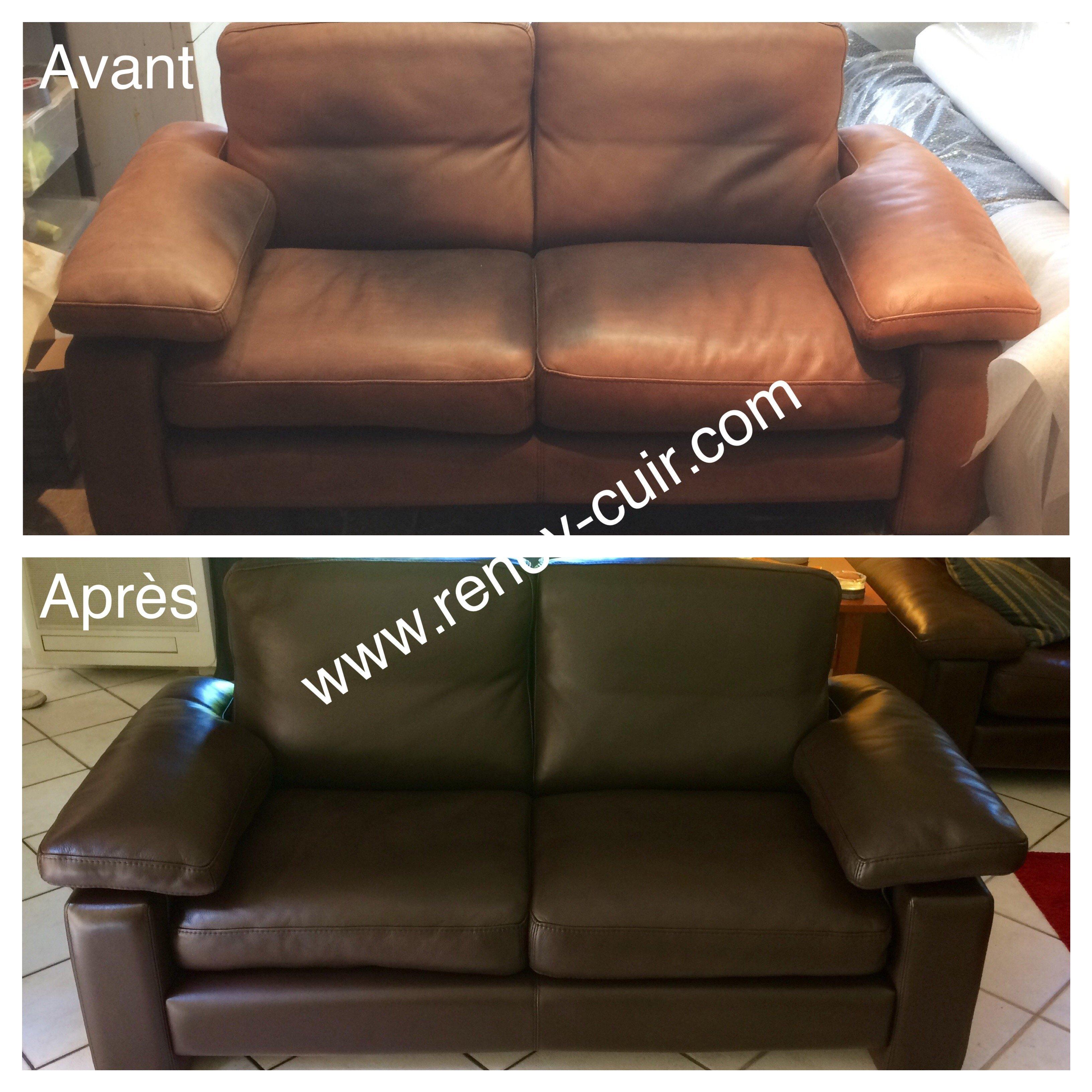 Changer La Couleur D Un Canapé En Cuir rénovation cuir accueil